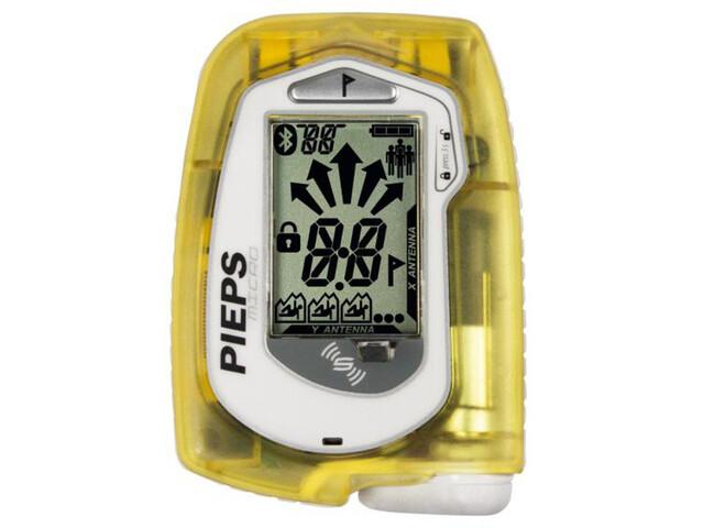 Pieps Micro BT Sensor Lumivyörypiippari, yellow